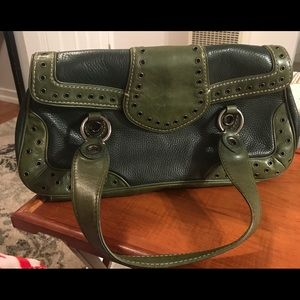Michael Kors vintage green handbag